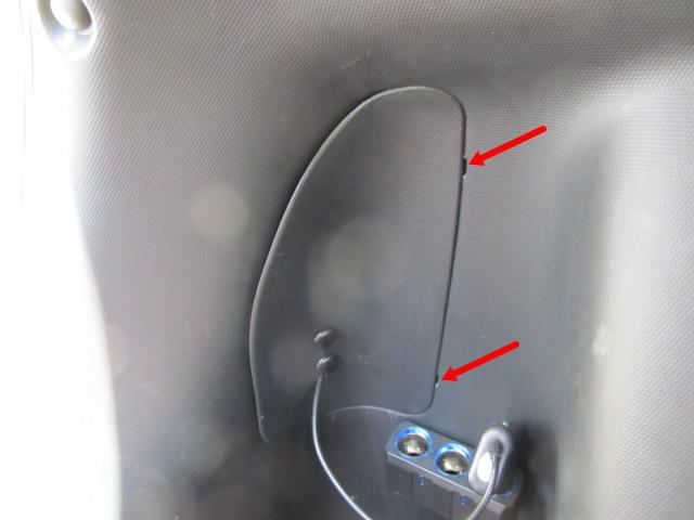 テール/ブレーキランプの球切れ 交換